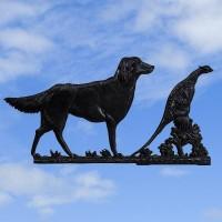 Gun Dog & Pheasant Black