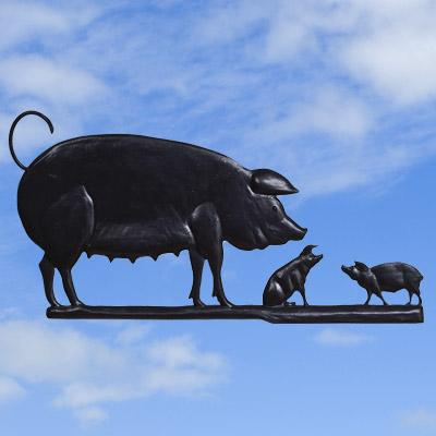 Pig Family Black